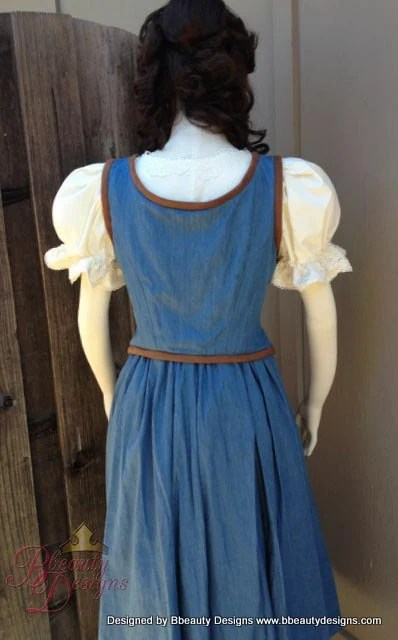 Belle Once Upon A Time Peasant Dress A Inspired by