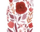 Marsala Pantone Color of the Year 8x10 Floral Print - INSTANT DOWNLOAD