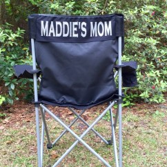 Personalized Camping Chairs Chair Rentals Long Beach Ca Monogrammed Coach 39s Camp