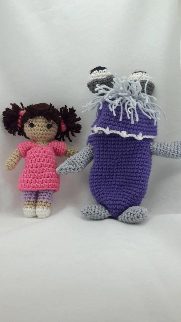 Crochet Boo Monsters Inspired Doll