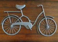 Bike Wall Decor / Bicycle Metal Wall Art / Unique Wall Idea