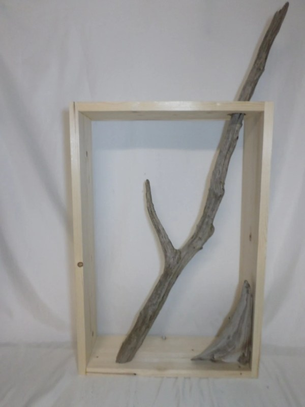 Decorative Driftwood Wall Art Unfinished Craft Project