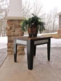 Rustic Outdoor Patio Table