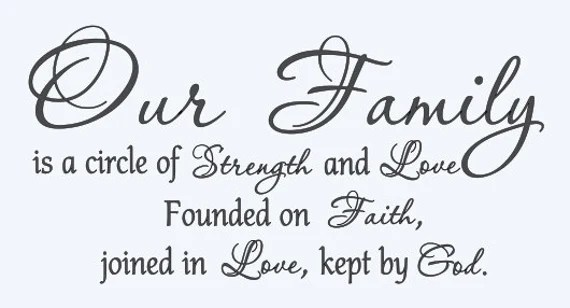 Download Our Family is a circle of Strength and Love by wallopalooza