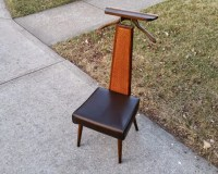 Mid Century Modern men's valet butler dressing chair