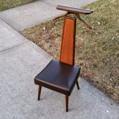 Mens Valet Chair Covers And Table Linens Rentals Mid Century Modern Men 39s Butler Dressing