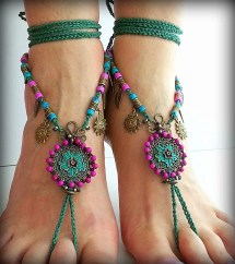 Barefoot Sandal Boho Sandals Hippie Foot Jewelry
