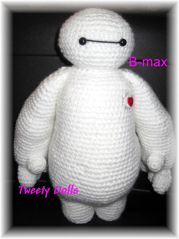 B Max Big Hero 6 Le Robot Infirmier Tutoriel Crochet En