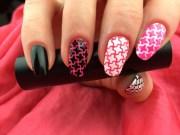 vitrage nail stencils set incredible