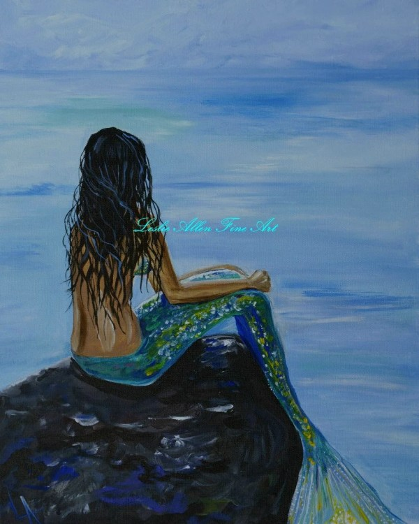 Ocean Mermaid Art