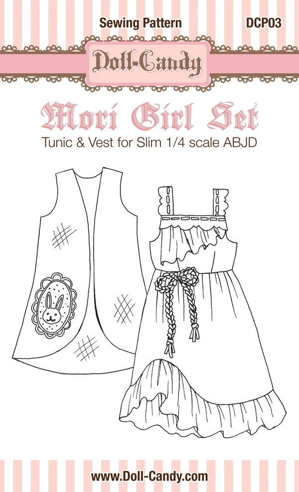 ABJD clothing patterns and accessories by DollCandy on Etsy
