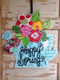 Spring Door Hanger Summer Door Hanger Spring Decor