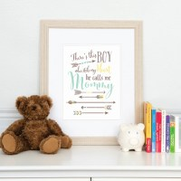 Arrow Nursery Decor Boy Who Stole My Heart Baby Boy Nursery