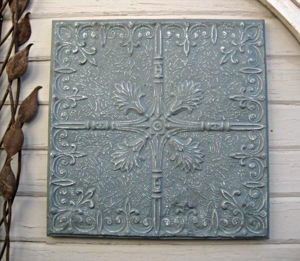Antique Tin Ceiling Tile. 2'x2' Circa 1910