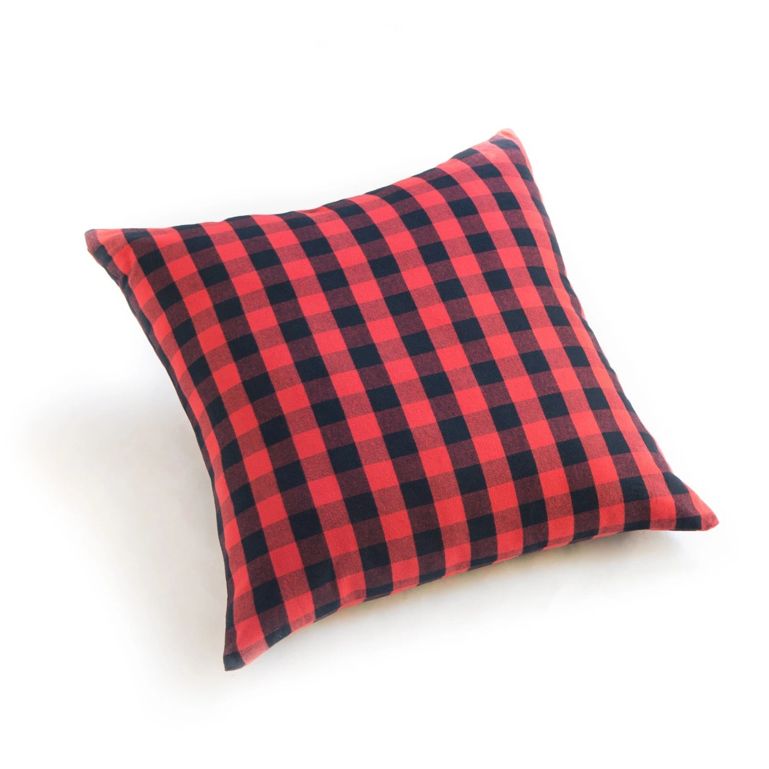 Buffalo Check Plaid Red 24 Pillow