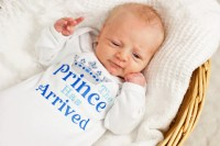 Newborn Baby Boy Take Home Hospital Outfit Prince Has ...