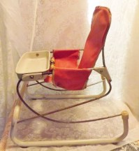 Antique Baby Chair Bouncy Seat Play Chair or by ...