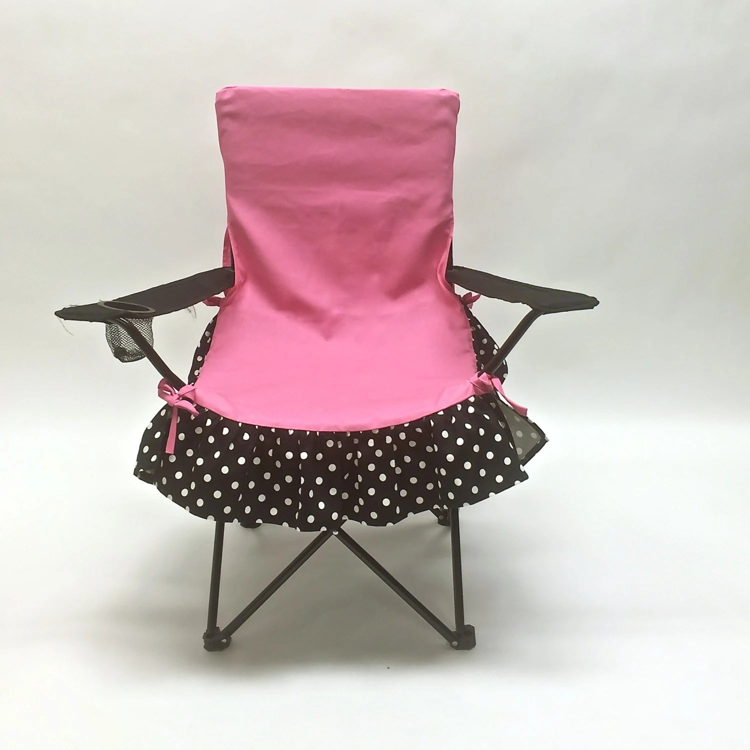 fancy chair covers metal outdoor table and chairs glamping accessory pink black by fabrinique