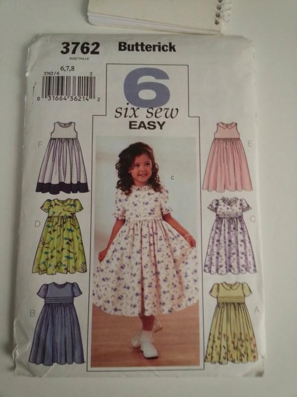 Little Girl Dress Flower Frilly Ruffle Sunday