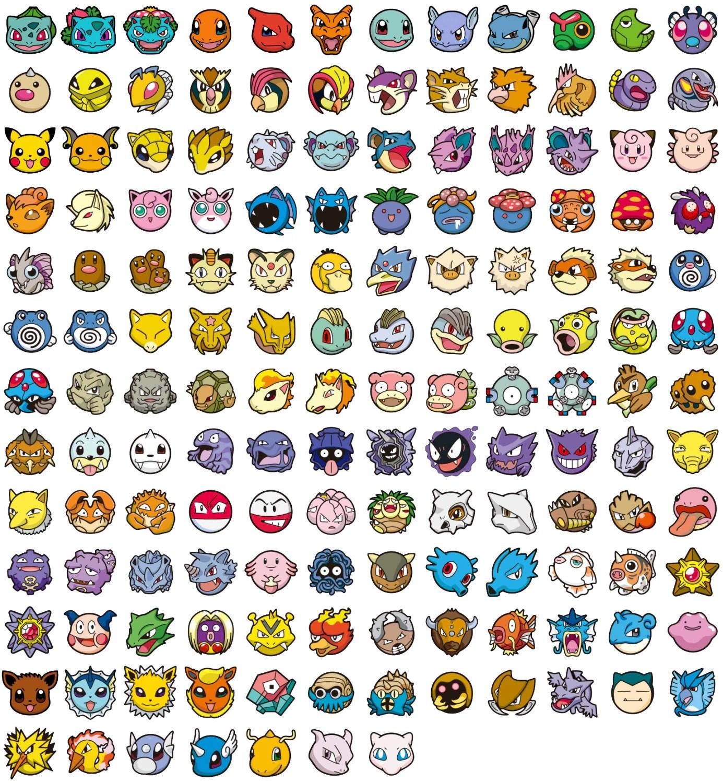 Custom Pokemon Stud Earrings