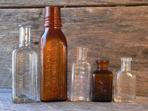 Antique Medicine Bottles Apothecary Companies