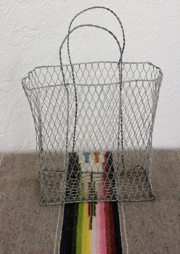 Collapsible Wire Magazine Basket-Set Of 2 – Haute Juice