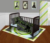 Items similar to Motocross Bedding Set Toddler, Dirt Bike ...
