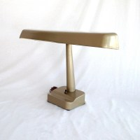 Vintage Table Lamp Fluorescent Desk Lamp Portable Light