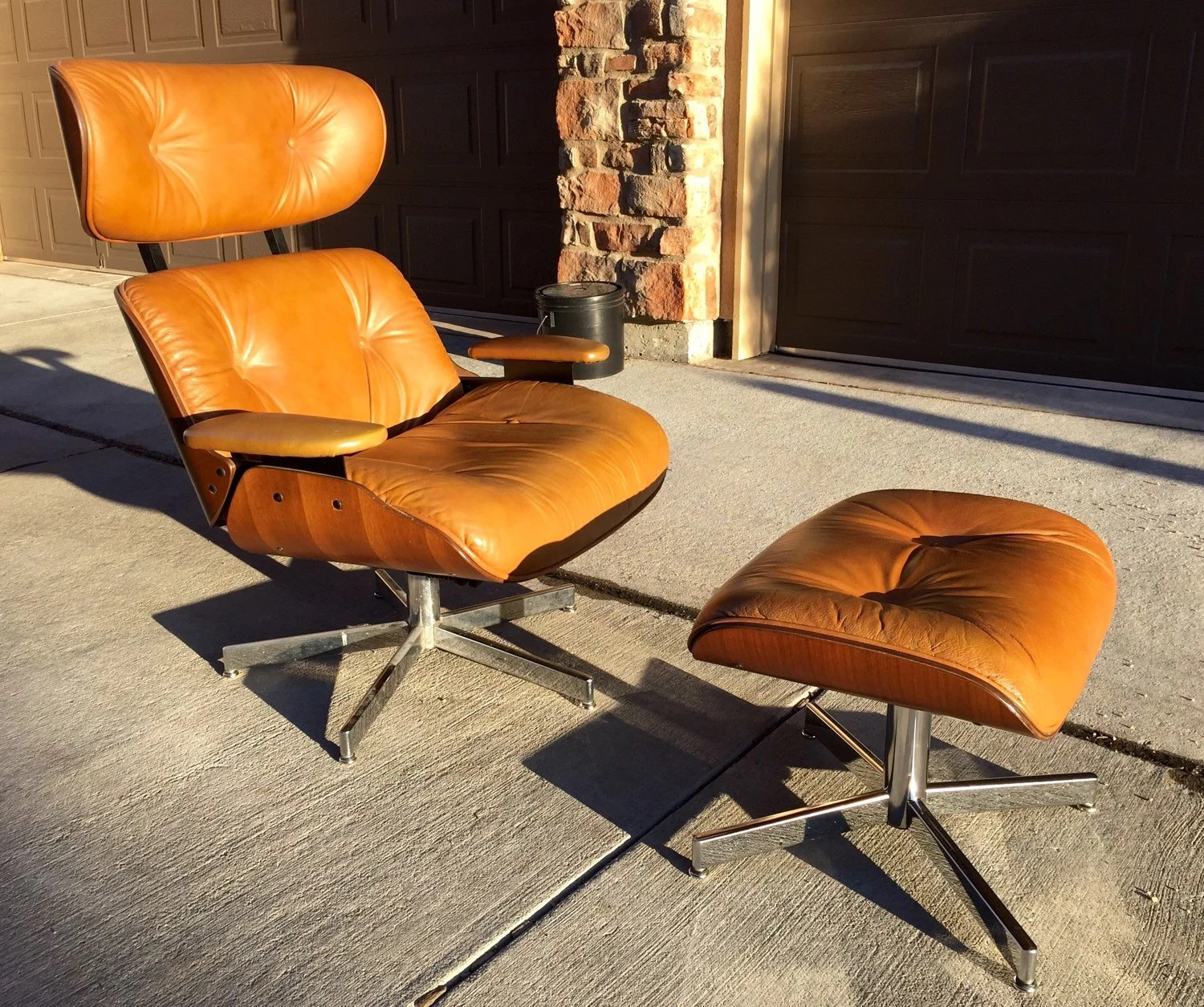 Selig Lounge Chair Selig 1960 39s Lounge Chair And Ottoman