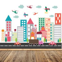 City Wall Decals - n Wall Decal
