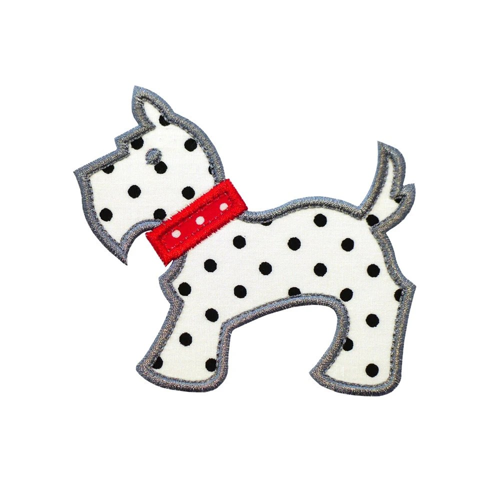 Popular items for scottie embroidery on Etsy