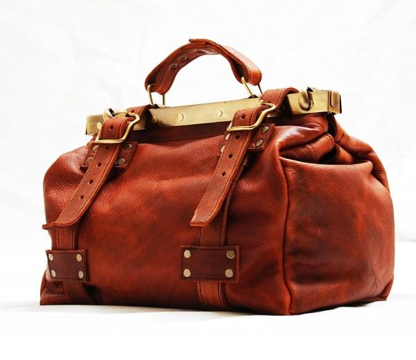Leather Dslr Camera Bag Gladstone Doctor