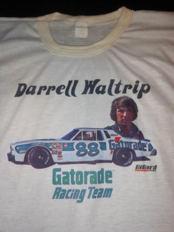 1970' Nascar T Shirt Darrell Waltrip