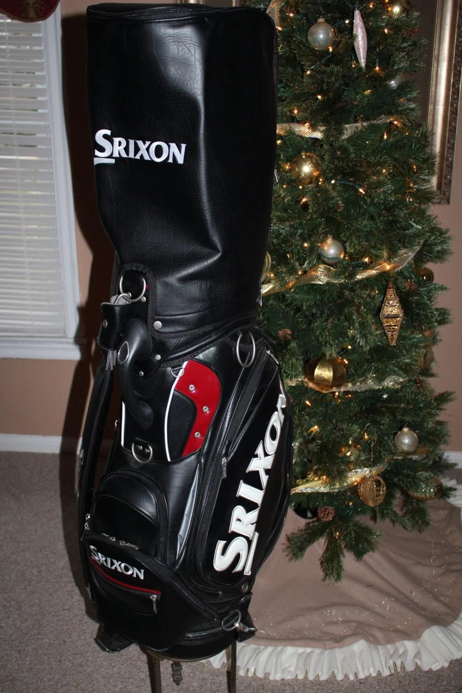 Golf Bag Srixon Leather Staff Golf Bag Professional Style