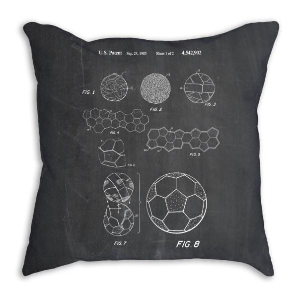 Soccer Ball 1985 Pillow Room Decor