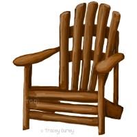 Adirondack Chair clip art adirondack chair painting hand