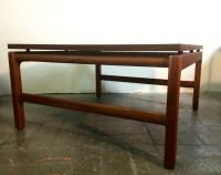 Wonderful Vintage Mid Century Modern Walnut Coffee Table ...