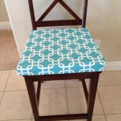 Teal Chair Cushions Table And Sets Cheap White Geometric Fabric Custom Cushion Cover