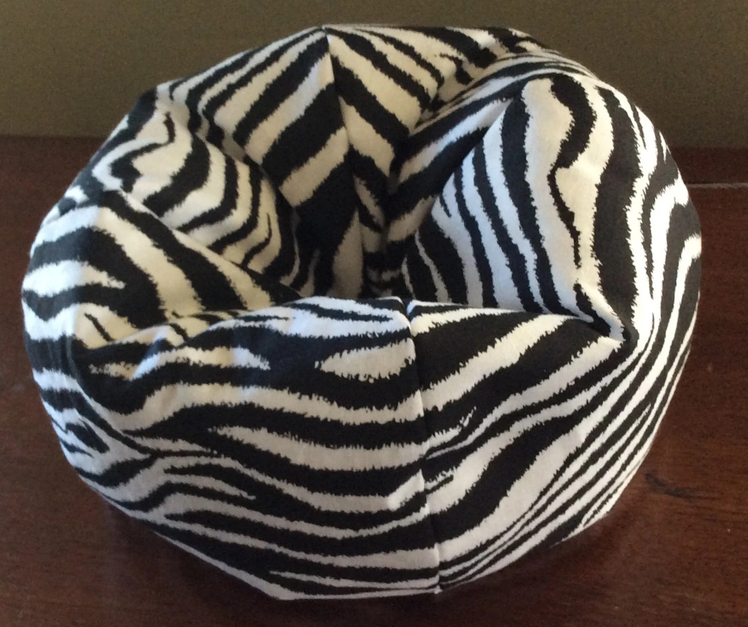 cheetah print bean bag chair circular chairs for sale zebra beanbag
