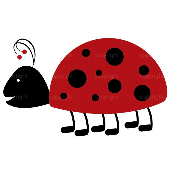 ladybug clipart commercial