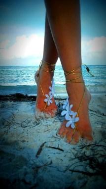 Barefoot Sandals. Wedding Boho Sandals