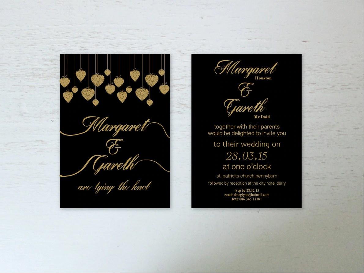 Wedding Invitations Digital Download Wedding Invite by NJRDesigns