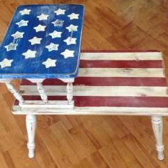 American Flag Chair Metal Garden Chairs Argos Americana Furniture Hand Painted