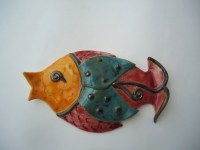 fish wall decor - 28 images - wall decor metal fish blue ...