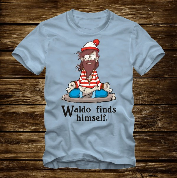 Waldo Finds Funny T-shirt Adult Sizes -3xl
