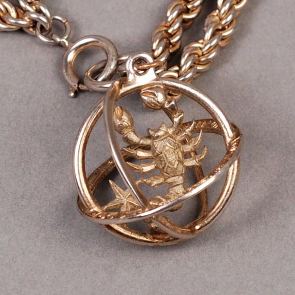 Trifari Scorpio Bracelet Necklace Zodiac