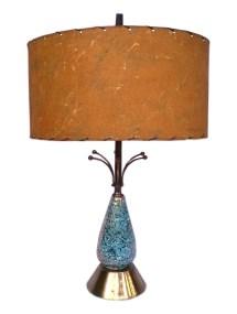 Atomic Vintage Mid Century Lamp Sputnik Fiberglass