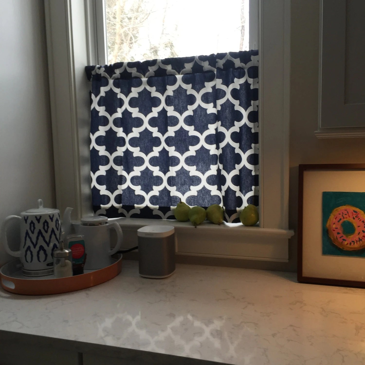 kitchen curtain fabric for sale miami cabinets weekend cafe 30 color choices moroccan