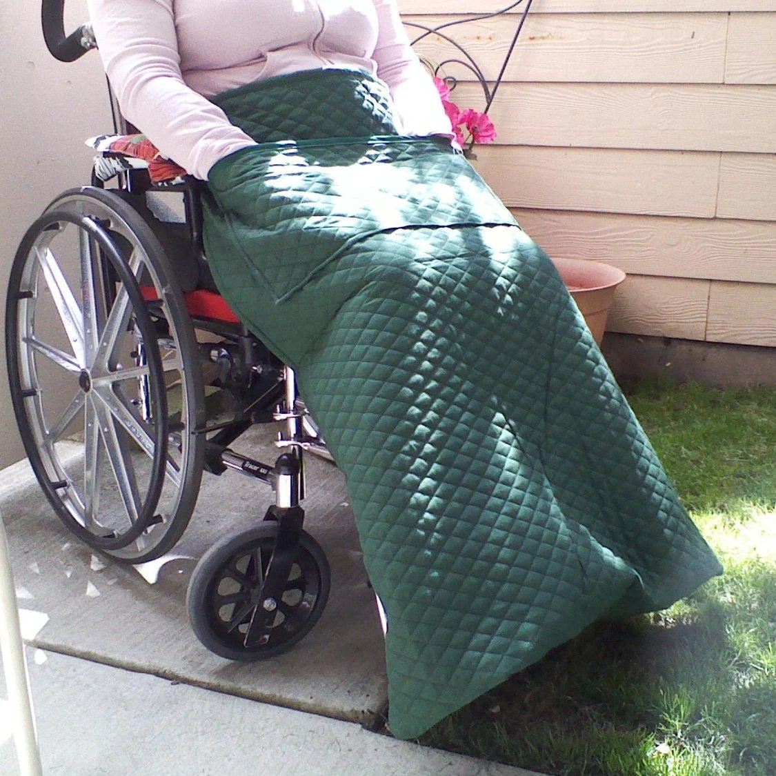 wheelchair blanket steel chair with arms power lap handmade quilted