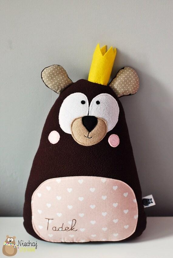 Teddy Bear In Crown Softie Soft Plush Toy By